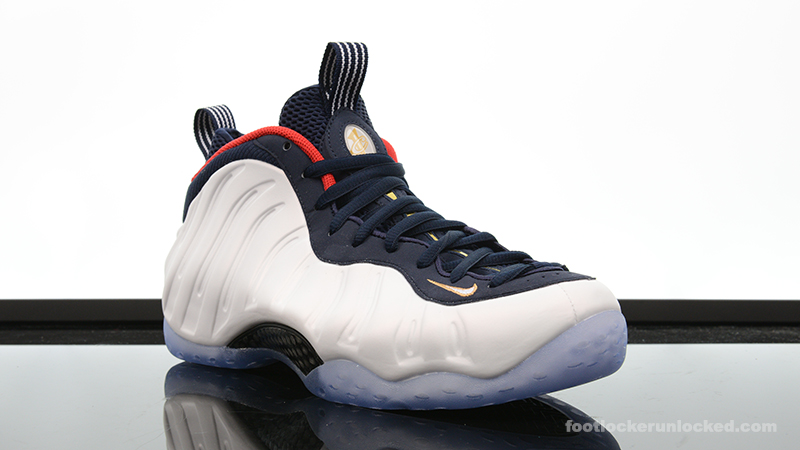 Nike Air Foamposite One Blue Mirror ?? Foot Locker Blog