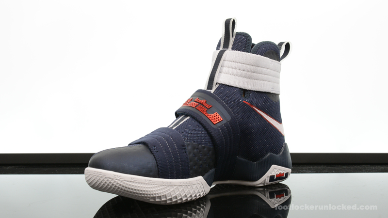 check out 9139f 20f8a ... Foot-Locker-Nike-Zoom-Soldier-10-Red-White- ...