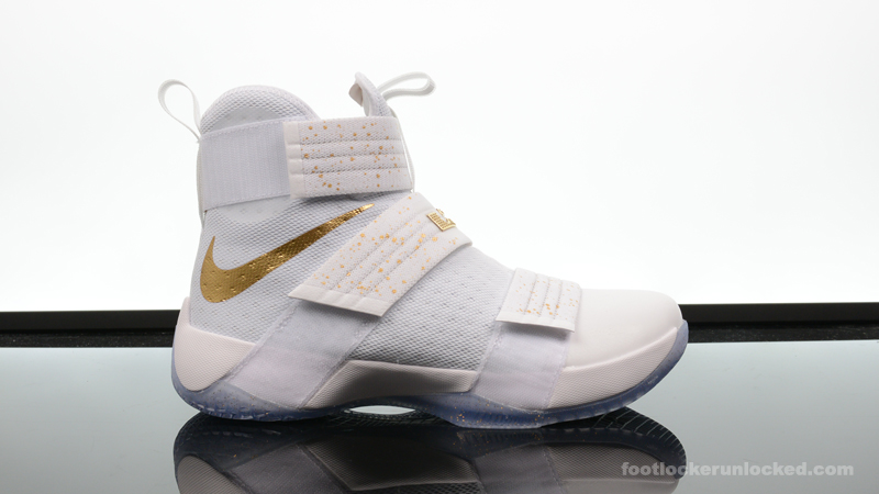 Foot-Locker-Nike-Zoom-LeBron-Soldier-10-Metallic-Gold-2