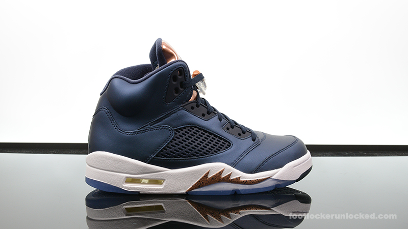 foot locker air jordans 5 bronze