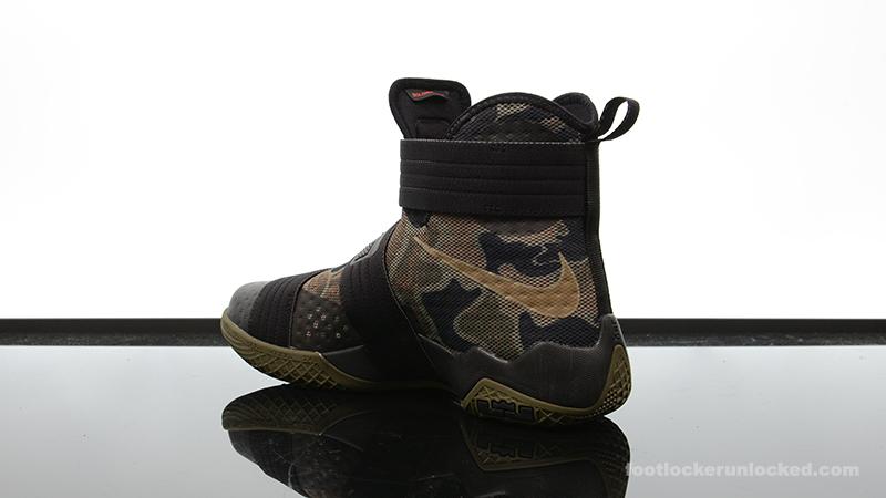 "e899b727232 Nike Zoom LeBron Soldier 10 ""Camo"" – Foot Locker Blog"