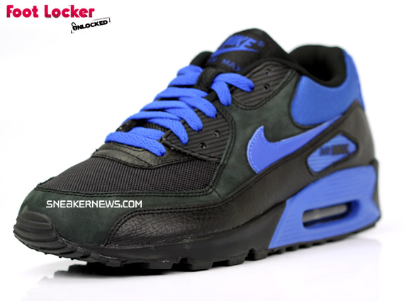 finest selection dc9b7 b9b86 Nike Air Max 90 – Black   Royal