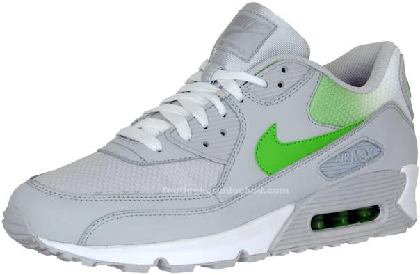 buy online ebb66 93380 Air Max 90 – neutral grey/mean green – Foot Locker Blog