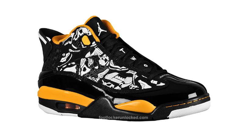 Air Jordan Dub Zero Black/White/Taxi at