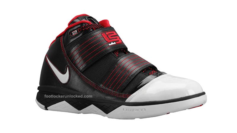 39bf6684eee6 Nike Zoom Soldier III Black White Red at Foot Locker – Foot Locker Blog