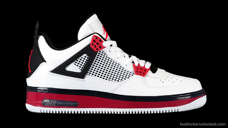 separation shoes 78b69 54310 AJF4 Varsity Red at Foot Locker. July 1st - Posted By. The Varisty Red Air  Jordan Force 4 ...