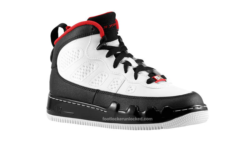 reputable site c882d 3d13f Jordan AJF9 White Red Black Now Available