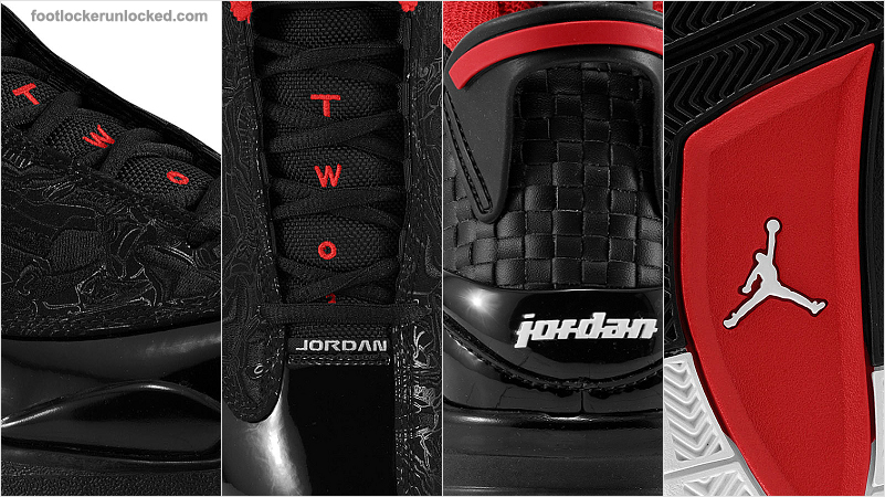 official photos a667f 756b5 If you missed the other colorways of the Dub Zero, check out the Black Taxi  and the White Cement as well. For more shots of the Black Red Dub Zero go  to ...