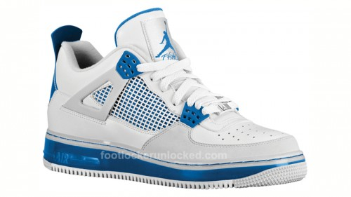 best service e9447 a6d34 Air Jordan Fusion 4 Military Blue at Foot Locker and House of Hoops