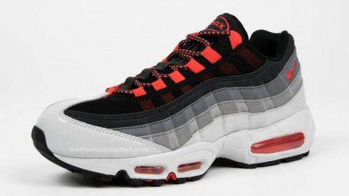 brand new 50c93 8c889 Hot Red Air Max 95 In Stores – Foot Locker Blog