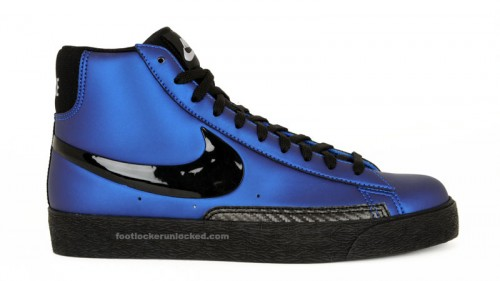 8bf5760544a Nike Blazer High Premium in Foamposite Blue at House of Hoops in ...