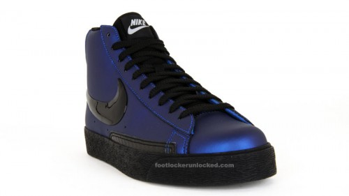 56d1ae776ce Nike Blazer High Premium in Foamposite Blue at House of Hoops ...