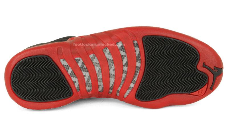sneakers for cheap 5653b 782ad jordan-xii-retro-flu-game-3. The original Black Red ...