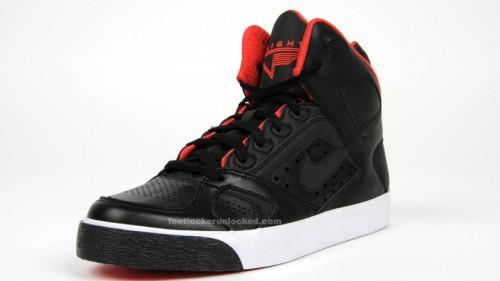 Nike Auto Flight Black/Hot Red in
