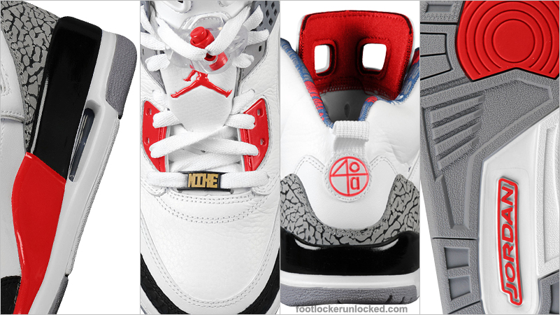 new product 2cc65 3bd5d Jordan Spiz'ike Fire Red Now Available – Foot Locker Blog
