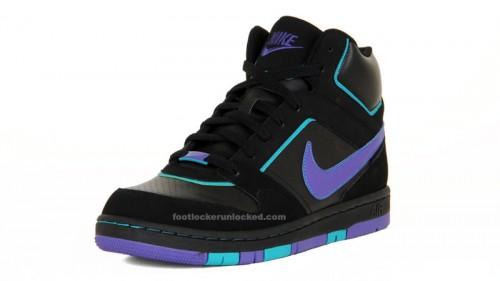 6a84cf53141270 Nike Prestige High Black Varsity Purple Turbo Green