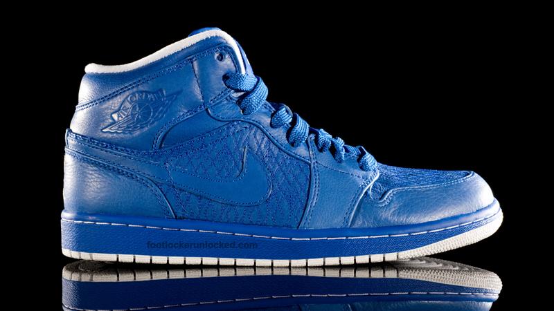 Air Jordan 1 Phat Mid Blue 1 Foot Locker Blog