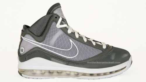 1ce3557564be8f Air Max LeBron VII Cool Grey Arrives in March – Foot Locker Blog