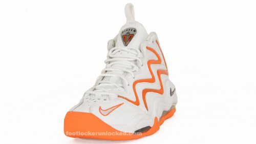 competitive price ab0d4 04e7e The Nike Air Pippen white grey total orange will arrive at Foot Locker and  footlocker.com on June 25th. air-pippen-whitedark-greytotal-orange-1