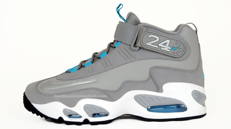 Nike Air Griffey Max 1 Grey Marina Blue Metallic Silver Now Available 3ef784f04