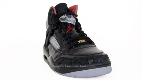 best sneakers 65981 2bc8e The Jordan Spizike Black Varsity Red Stealth hits Foot Locker stores and  footlocker.com on Saturday, June 5th. jordan-spizike-blackredstealth-1