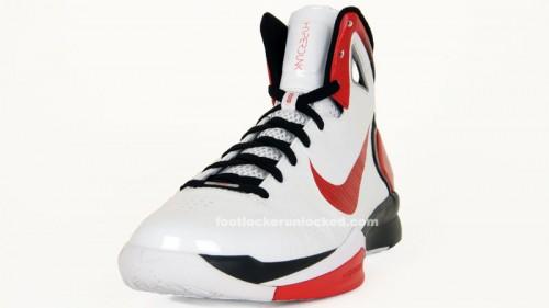 Nike Hyperdunk 2010 White/Sport Red