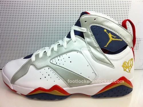 online store d47a7 af285 Jordan Retro Olympic 7 – Foot Locker Blog