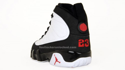 free shipping 5ac40 dba54 Jordan Retro 9 White/Varsity Red/Black – Foot Locker Blog