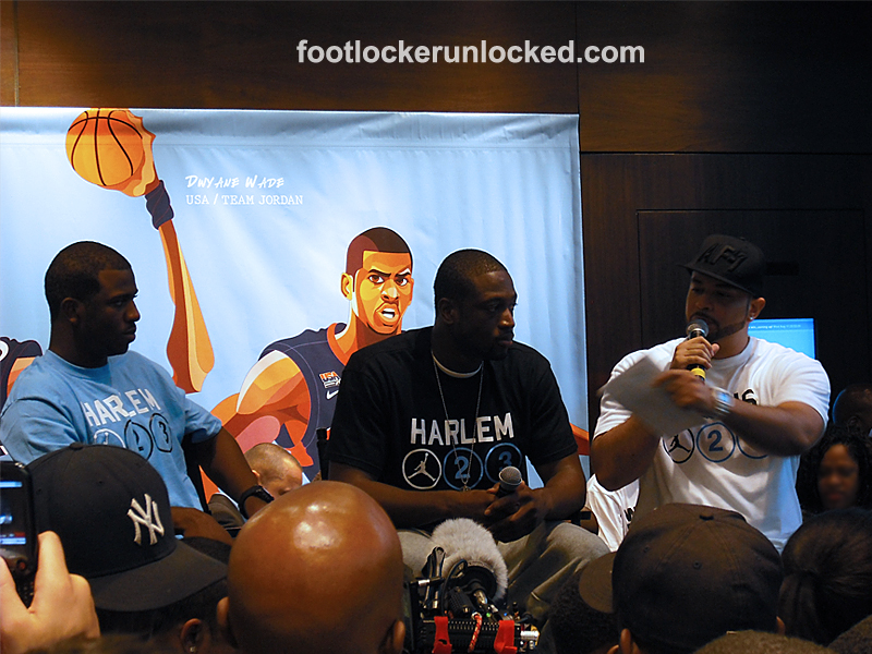 Dwyane Wade and Chris Paul House of Hoops Appearance – Foot