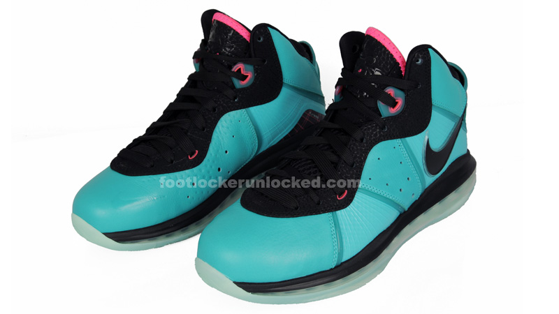 Nike Air Max LeBron 8 South Beach Hits in Kids  Sizes – Foot Locker Blog bfa88ce26