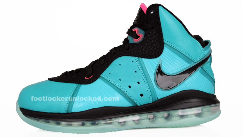 "Nike Air Max LeBron 8 ""South Beach"" at House of Hoops – Foot Locker Blog 3ccec458d"