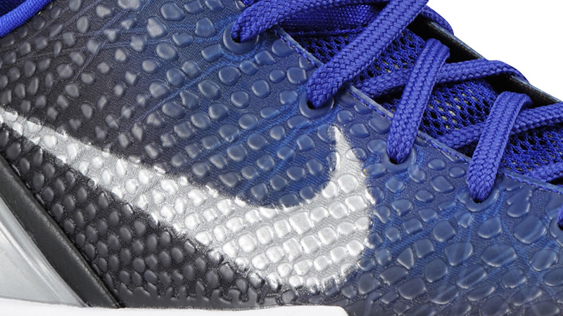 finest selection 7a5e8 2b623 Nike Zoom Kobe VI Black Metallic Silver Concord