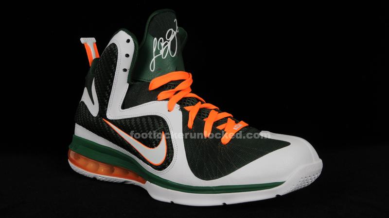 06f13b04f1d LeBron 9 Miami Hurricanes – Foot Locker Blog