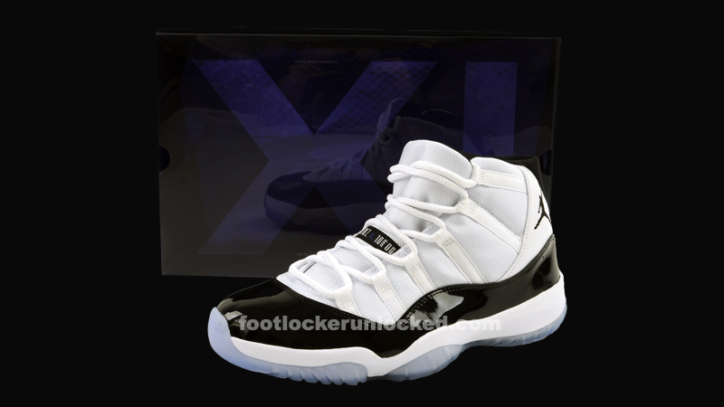 brand new 981c3 65df1 Jordan Retro 11 Concord – Foot Locker Blog