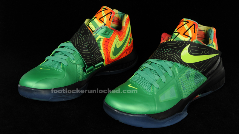 new concept 2dad6 48ee4 Nike Zoom KD 4 Weatherman – Foot Locker Blog
