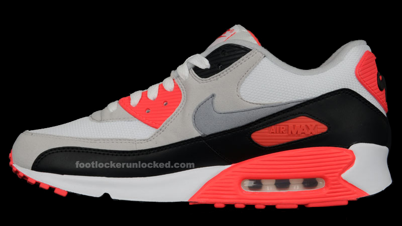 newest 4faea bd09d Hottest Month Ever  Nike Air Max 90 Reverse Infrared – Foot Locker Blog