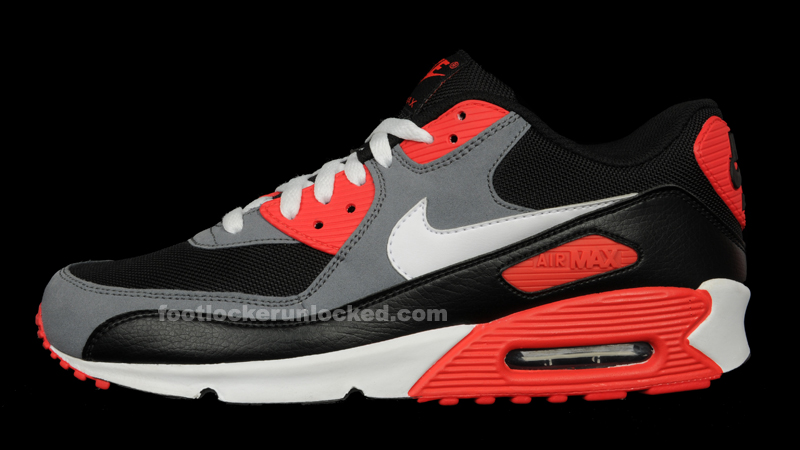 6bdab990879 Hottest Month Ever  Nike Air Max 90 Reverse Infrared – Foot Locker Blog