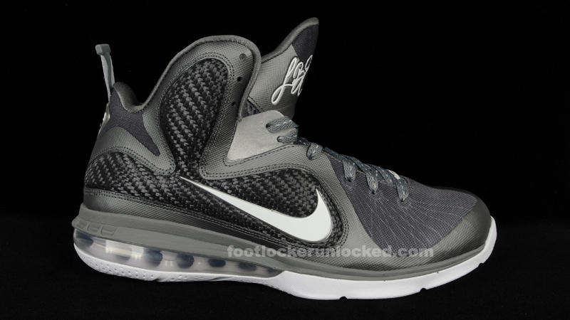 timeless design 5ee10 adfbc ... Hottest Month Ever Release Lebron 9 Cool Grey – Foot Locker ...