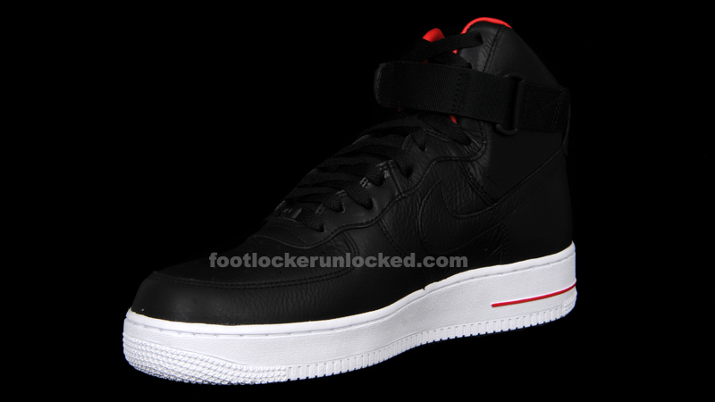 "competitive price 97ced f9471 Nike Air Force One Hi Premium ""LeBron James"" – Foot Locker Blog"