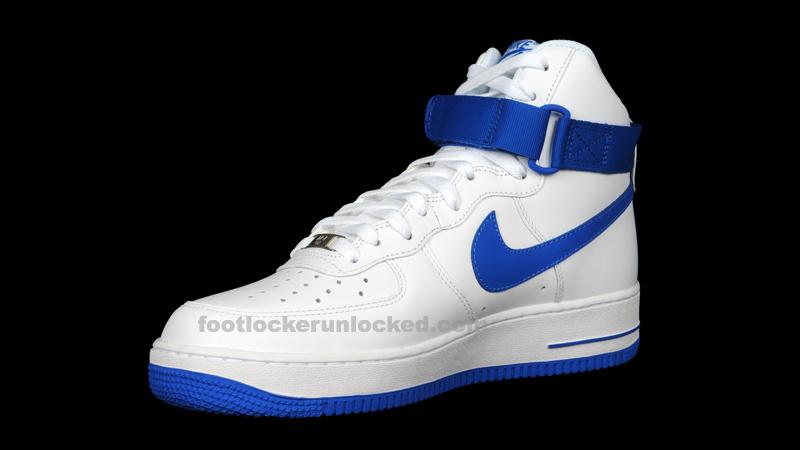 nike air force high tops blue