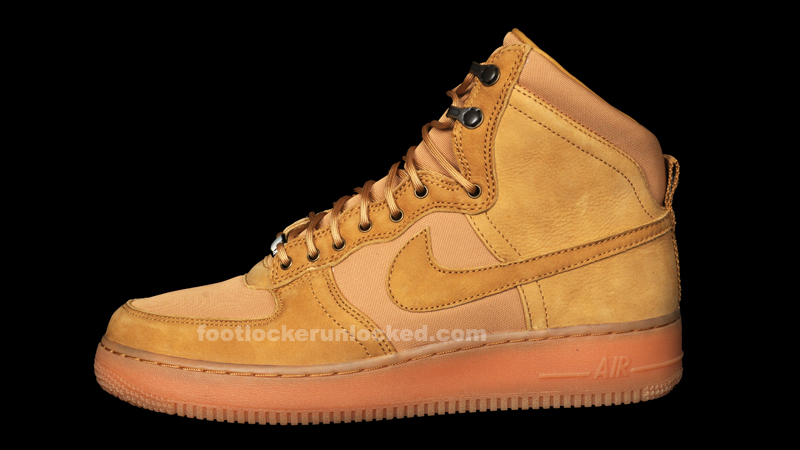 "online store 187ee f7b7e Nike Air Force 1 Hi DCN Military Boot ""Golden Harvest"" – Foot Locker ..."