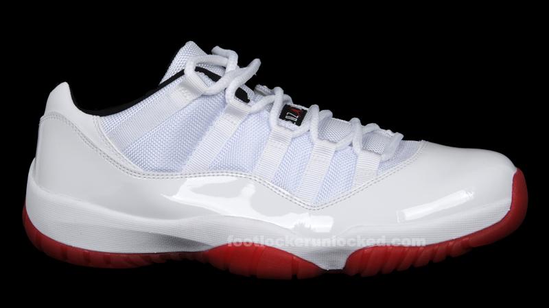Jordan Retro XI Low White/Varsity Red
