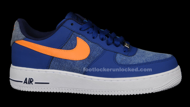Fl Unlocked Nike Air Force 1 Denim Storm Blue Orange 01 Foot Locker Blog