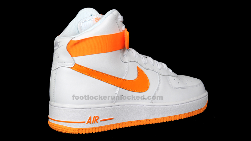 dc07c821f2e5e8 ... May 12th Nike Air Force 1 Releases – Foot Locker Blog white and orange  ...