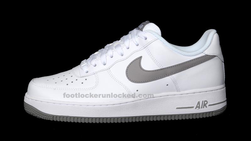 more photos 50de7 6e9bc Nike Air Force 1 White Grey