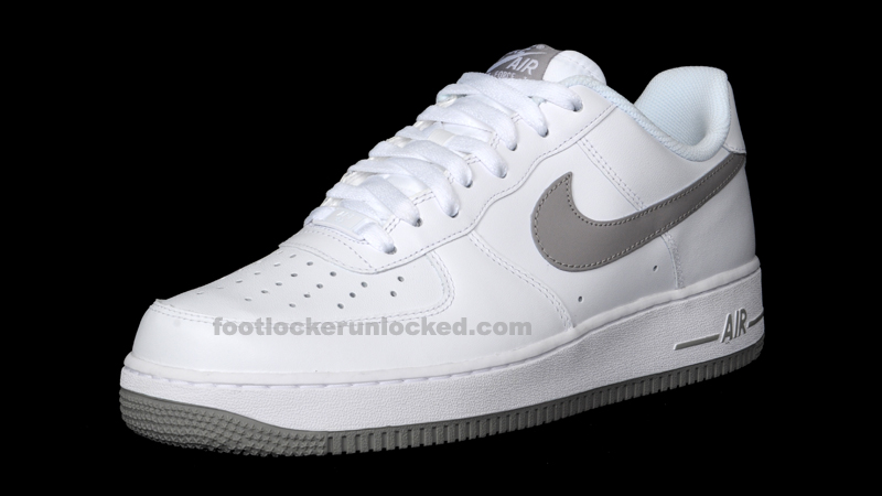 Buy Online grey and white air force 1