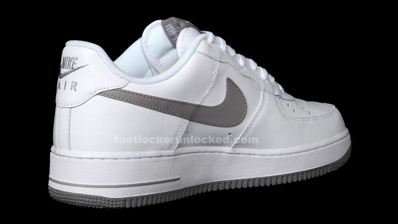 best website 6c4fa a3134 Nike Air Force 1 White Grey – Foot Locker Blog