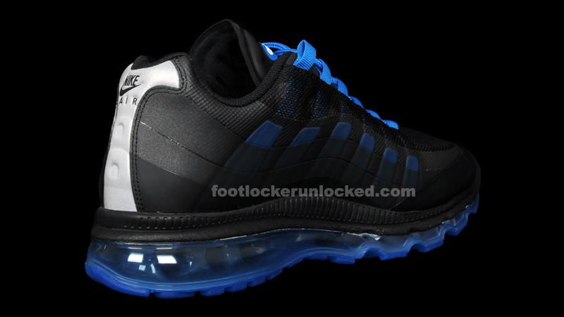 quite nice 58714 7c136 Nike Air Max + 95 360 Black Anthracite Cool Grey Royal Blue. Nike ...