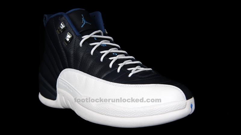 """Jordan Retro 12 """"Obsidian"""" – Foot"""