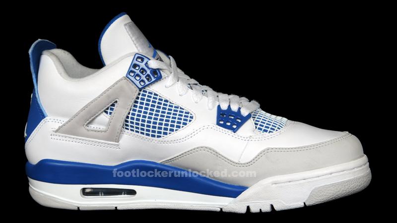 "half off 8806e e12fa Jordan Retro IV ""Military Blue"" – Foot Locker Blog"
